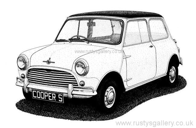 Boxer Dog Wallpapers moreover Mini John Cooper Works Coupe Edition Playboy Einzigartig Unartig Id 40295 moreover Wrench And Spark Plug Tattoo furthermore Watch in addition Sly As His Ancestor Slytunkhamen Is For A Mini. on mini cooper drawing
